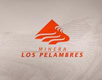 WEB MINERA LOS PELAMBRES - WEB DESIGN