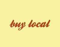 """Posterheroes - """"Buy Local"""""""
