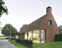 Visualization of a house in Holland