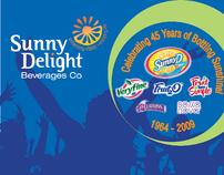 Commemorative Booklet - Sunny Delight  Beverage  Co.
