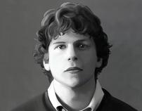 Jesse Eisenberg Digital Paintings