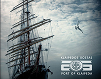Port of Klaipeda 25 years branding