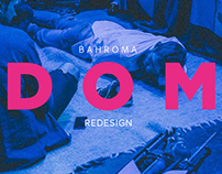 Web Design for Bahroma rock band