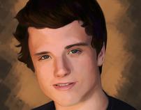 Josh Hutcherson Digital Painting