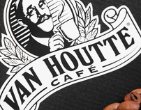 VAN HOUTTE CAFE / Whole Bean Dark Coffee