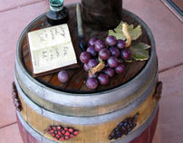 "Verde Valley Wine Trail's ""Painted Barrel Project"""