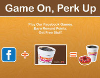 Dunkin Donuts: Game On, Perk Up