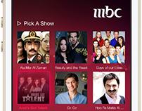MBC Middle East Talent Engagement App (Spec)