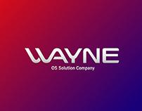 'WAYNE' Corporate and Brand Identity
