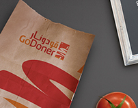 Go Doner Logo & Print Design
