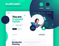 KlinPlanet - onepage