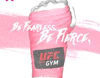 UFC GYM Breast Cancer awareness