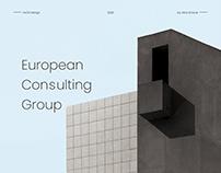 Business website EUCG