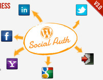 SocialAuth WordPress Plugin
