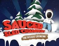 Saucer Sled Champion
