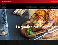 Web design | Rôtisserie Montaigne