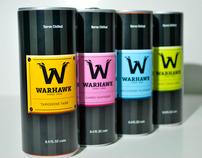 Warhawk Energy Drink Packaging