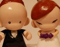 Pexos Munnys (Wedding Toppers)