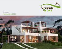 UruguayGrows / Tríptico