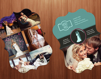 Wedding Boutique Promo Cards