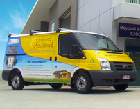 Solar Energy Installation Vehicle Wrap