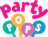Logo and Stationery set for Party Pops