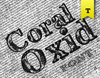 Coral Oxid Font