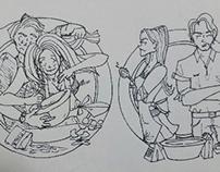 Lakeshore, comic picture