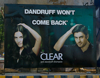 Branding of Clear Shampoo