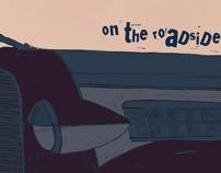 On the roadside
