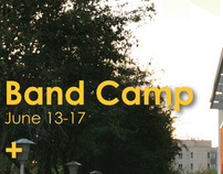 Summer Music Camps Poster