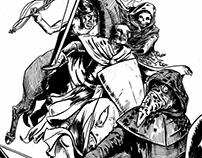 Inktober 18- Four Horsemen