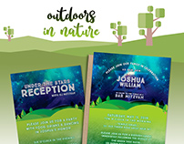 Great Outdoors Bar Mitzvah Invitation Suite