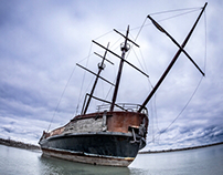 The Ghost Ship of Jordan Harbour