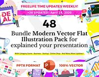Free - flat illustration vector for your presentation