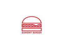 Dumont Burger branding