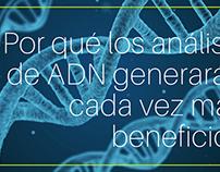 Por qué los análisis de ADN generarán cada vez más bene