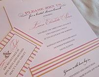 Wedding and Bridal Invitations