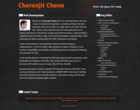 Charanjit Chana - portfolio of a web developer