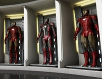 Iron Man's Hall of Armor