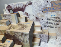 Print definitions pop up book