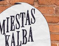 """Poster """"Miestas Kalba"""""""