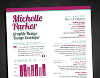 CV & RESUME DESIGN - Personal and Client