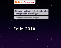 Galicia Seguros - Tarjetas digitales de Año Nuevo 2010