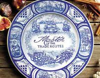 V&A Delft plate