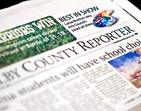 Shelby County Reporter newspaper redesign