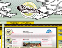 Canchers web challenges - Web Design