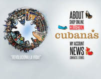 Cubanas - Website Layout