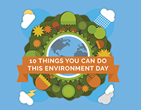 10 Things You Can Do This Environment Day