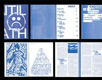 "Risograph Fanzine ""UNTIL DEATH"""